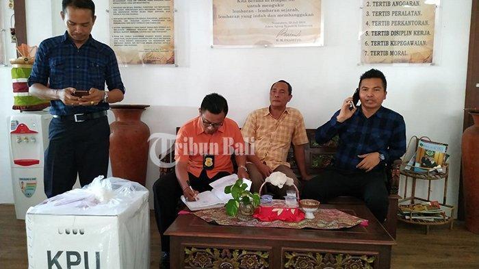Pelimpahan Tahap II Kasus Perusakan Surat Suara, Oknum KPPS Akan Jalani Sidang di PN Tabanan