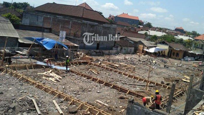 Pembangunan Pasar Anyar Sari Sudah Mulai, Target Selesai 20 Desember 2019