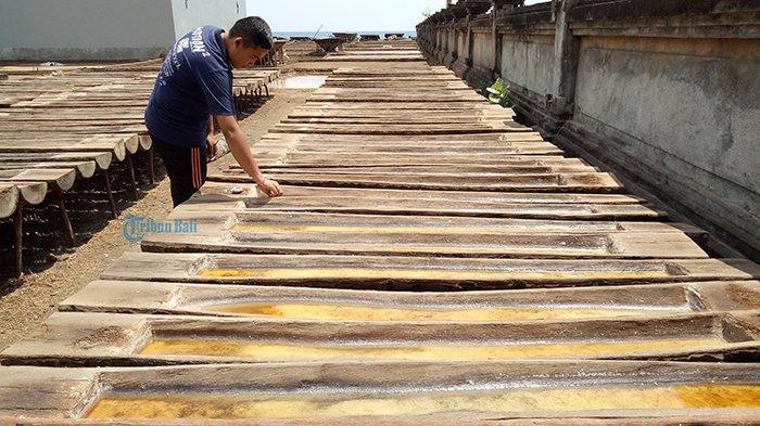 Penjualan Garam Amed Bali Anjlok Sejak 2020 Akibat Pandemi Covid-19, Terjual Hanya 1 Ton