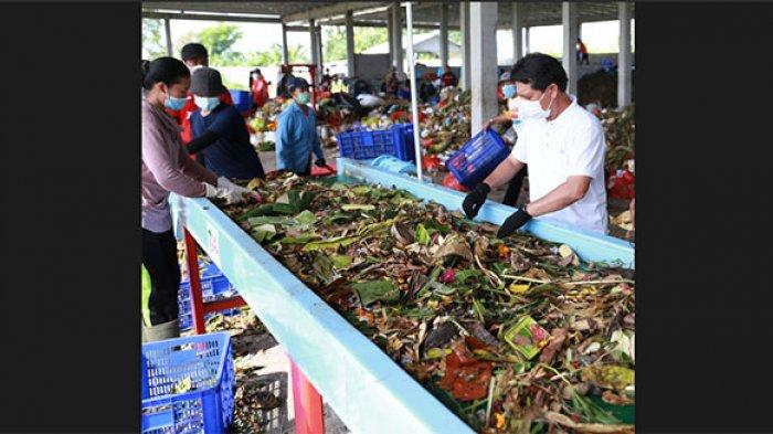 Produksi Pupuk Kompos di TOSS Centre Karangdadi Dinilai Belum Maksimal,Ini Strategi Bupati Klungkung
