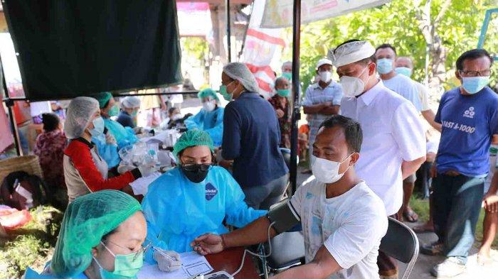 Targetkan Wilayah Zona Hijau, Dinkes Sasar Vaksinasi Terhadap46.941Warga di Nusa Penida Bali