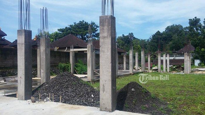 Rp 800 Juta Hanya Jadi Pilar dan Pondasi, Proyek Gedung BUMDes Sembung Mangkrak
