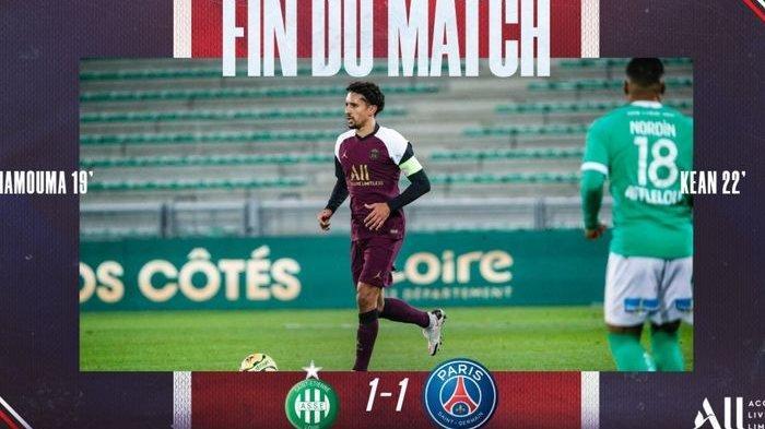 Hasil Imbang PSG Vs St. Etienne Tandai Debut Mauricio Pochettino Sebagai Pelatih Les Parisiens