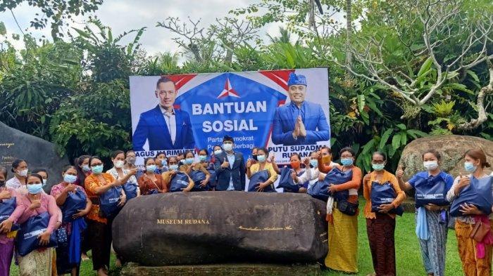 Anggota Komisi VI DPR RI PSR KembaliSalurkan 5 Ribu PaketBantuan Sembako untuk Masyarakat Bali