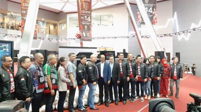Saham Bali United Resmi Tercatat di BEI Dengan Kode 'BOLA' Klub Pertama Asia Tenggara yang Go Public