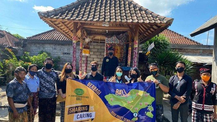 PT. Kontak Perkasa Futures Bali Bergerak Salurkan 1000 Paket Sembako