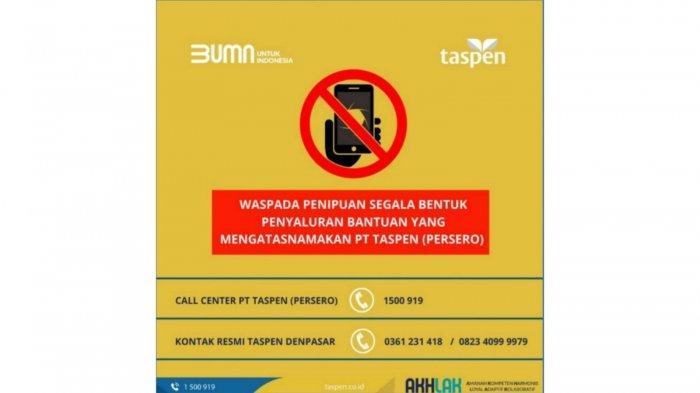 Dukung Kebijakan PPKM Darurat Jawa dan Bali, PT Taspen Maksimalkan Pelayanan Online