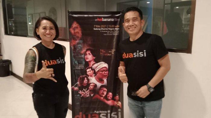 Puja Astawa dan Dewi Pradewi Rilis Film 'Dua Sisi' Tanpa Biaya Produksi, Kupas Stigma Negatif Tatto