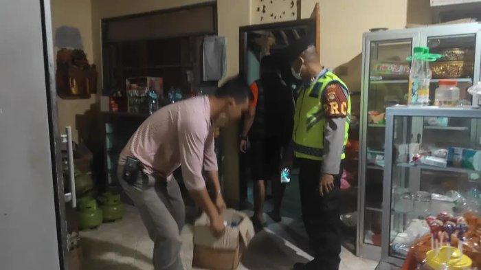 Gerebek Pesta Miras, Polsek Sukawati Amankan Puluhan Liter Arak