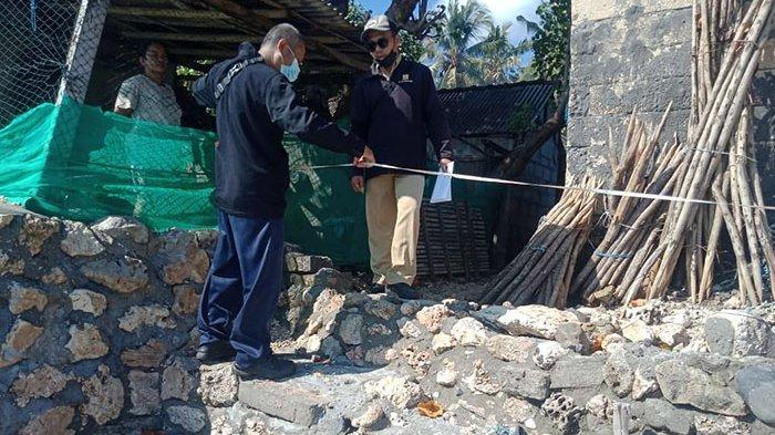 Rumah Hancur Diterjang Ombak, Kerusakan Tanggul Pantai di Desa Ped Nusa Penida Capai 90 Meter