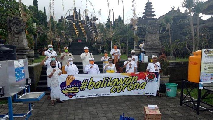 Yamaha Bali Bersinergi Membantu Pencegahan Covid-19 di Bali
