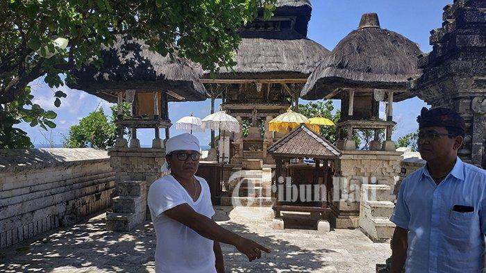 Tebing Yang Retak Tidak Akan Menghambat Piodalan di Pura Luhur Uluwatu Nanti