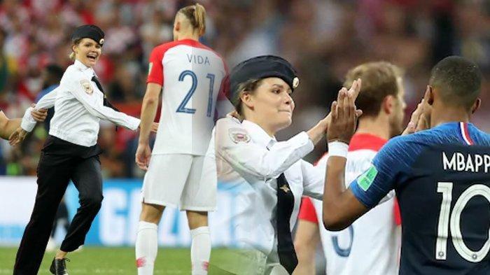 Perjuangkan 4 Aspirasi Ini, Olga Nekat Masuk ke Lapangan Saat Laga Pertandingan Final Piala Dunia
