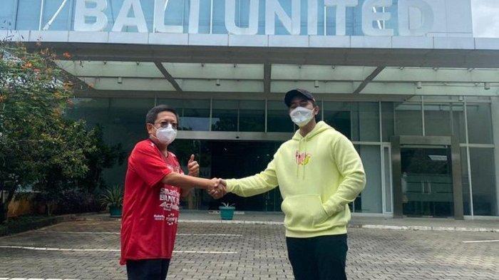 Kunjungi Bali United, Putra Presiden RI: Main Bola atau Beli Klub Bola?