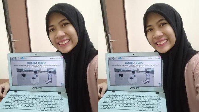 Dinamakan Hosiro-Usiro, Robot Buatan 3 Mahasiswa ITS Surabaya untuk Bantu Penanganan Covid-19
