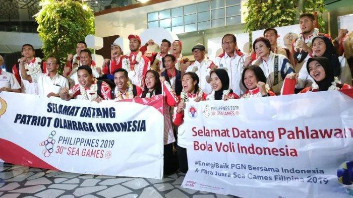 Tiba di Jakarta, Putu Randu dkk Disambut Hangat sebagai Pahlawan Olahraga