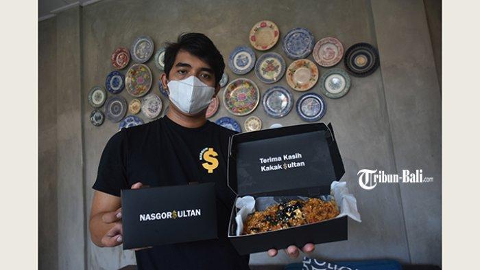 Nasi Goreng Sultan Bertabur Kertas Emas Hadir Pertama di Bali