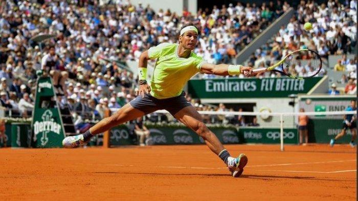 Rafael Nadal Amankan Tiket Perempat final, Simona Halep Tersingkir