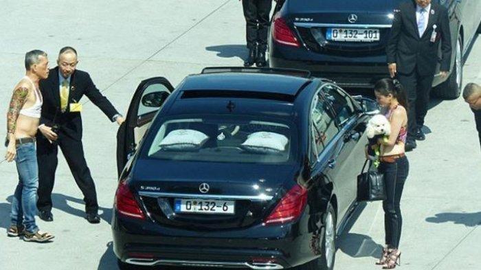 Heboh Foto-foto Syur Selir Raja Thailand Sineenat & Tersebar di Medsos, Berikut Ini 4 Kontroversinya