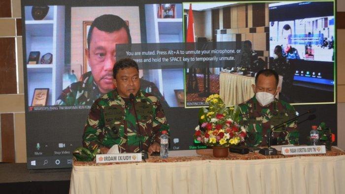 Rakor Rentikon Kotamaops TNI Digelar di Bali, Simak Pembahasannya