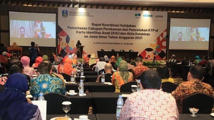 Dinilai Banyak Inovasi, Banyuwangi Dipilih Jadi Lokasi Rakor Adminduk se-Jawa Timur