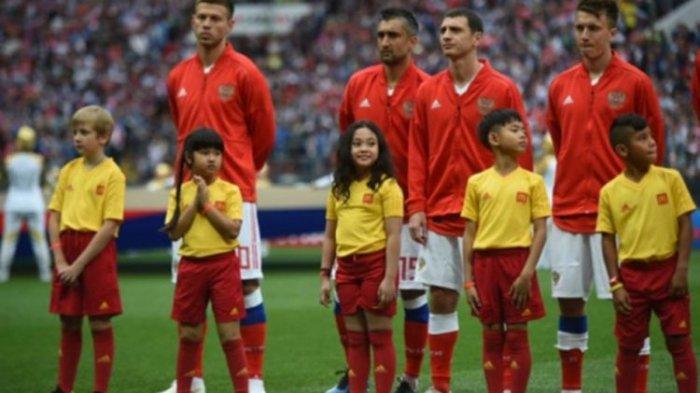 Terpilih Jadi Player Escort dalam Piala Dunia 2018, Rania: Aku Bangga Jadi Anak Indonesia