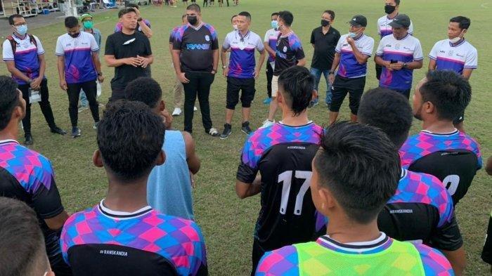 RANS Cilegon FC jelang laga persahabatan melawan Arema FC