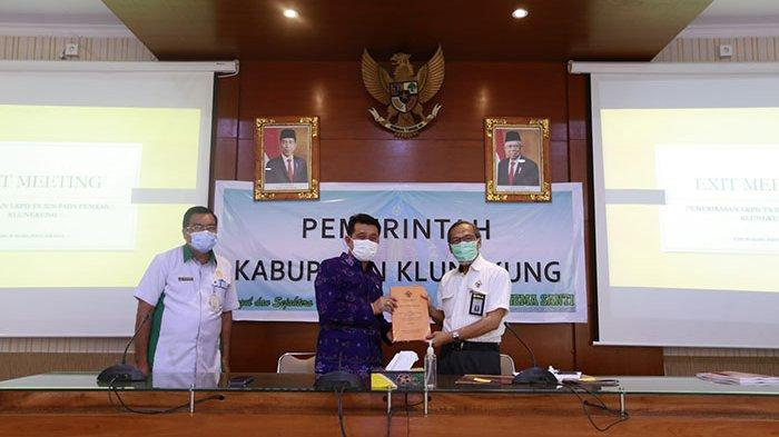 BPK Periksa Laporan Keuangan Pemkab Klungkung,Bupati Suwirta:Yang Jadi Catatan Harus Ditindaklanjuti