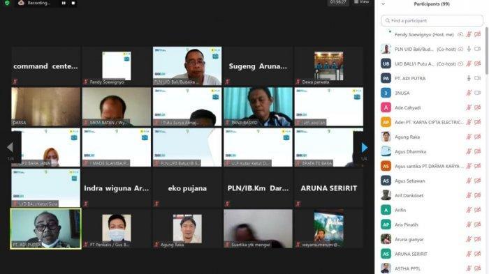 PLN UID Bali Gandeng Mitra Kerja Sosialisasikan Aplikasi New PLN Mobile