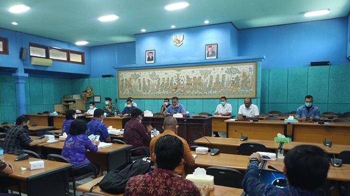 DPRD Klungkung Rapat Bahas Optimalisasi Pelayanan PDAM, Cari Solusi Lain Jika Pinjaman PEN Tak Cair