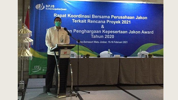 ApresiasiPerusahaan Jasa Konstruksi, BPJAMSOSTEK Bali Beri Penghargaan Kepesertaan Jakon Award