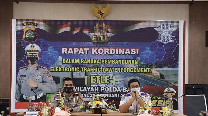Tekan Pelanggaran dan Laka Lantas, Program E-TLE Akan Disiapkan Direktorat Lalu Lintas Polda Bali