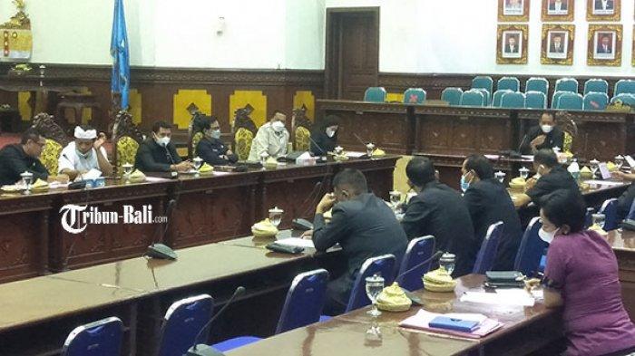 Rapat Perubahan KUA-PPAS 2021, Dewan Gianyar Minta Tak Ada Proyek Penyertaan Modal