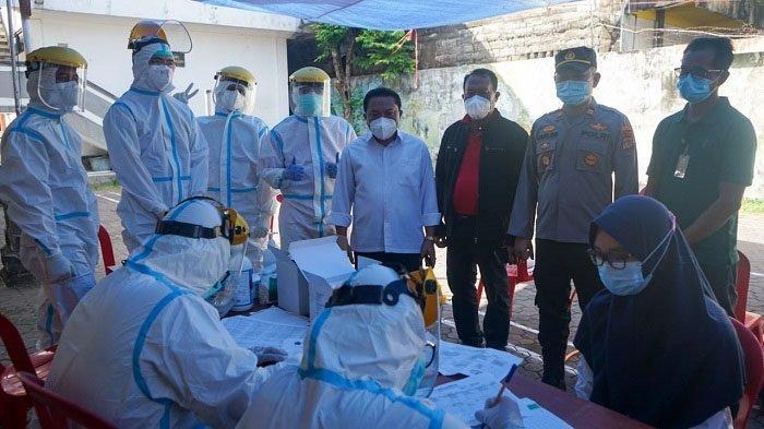 214 Santri di Denpasar Tes Rapid Gratis, Badrus: Mau Balik Lagi ke Sukoharjo untuk Pemondokan