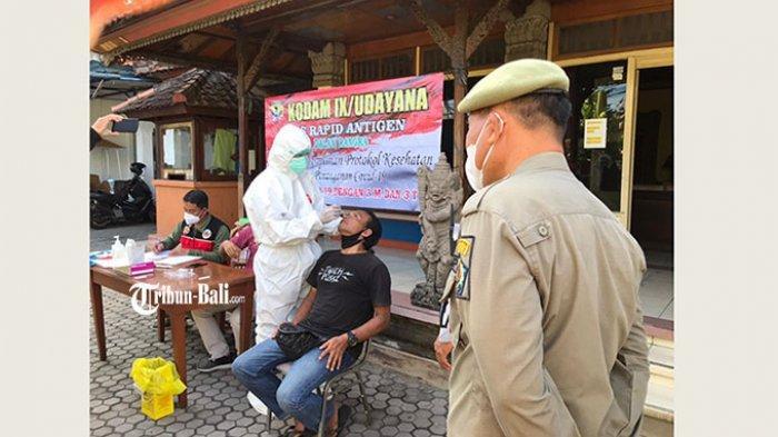 Tim Yustisi Kota Denpasar Temukan 15 Pelanggar Prokes di Seputaran Jalan Imam Bonjol