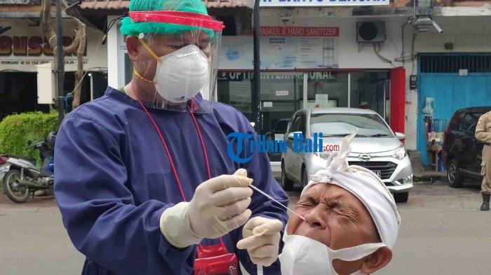 Kodim 1609/Buleleng Gelar Rapid Test Antigen Acak di Buleleng Bali, Dua Orang Ditemukan Reaktif