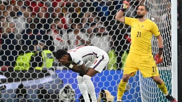 Gagal Bawa Inggris Menangi Euro 2020, Rashford Kepada Fans: Saya Bisa Bikin Gol Penalti Sambil Tidur