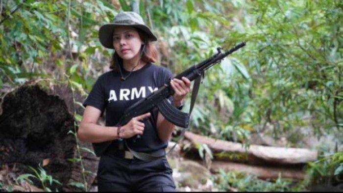 Ratu Kecantikan Myanmar Angkat Senjata Lawan Junta Militer, Tolong Selamatkan Kami
