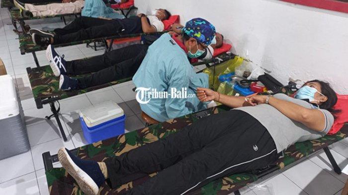 Stok Darah AB Menipis, Ratusan Guru di Klungkung Donor Darah