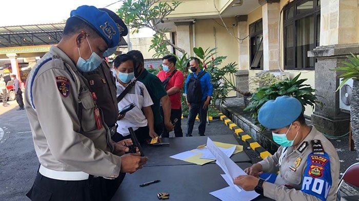 Personel yang Tak Rawat Senpi Dinas, Kabag Sumda Polres Badung Ancam Akan Lakukan Penarikan Senjata