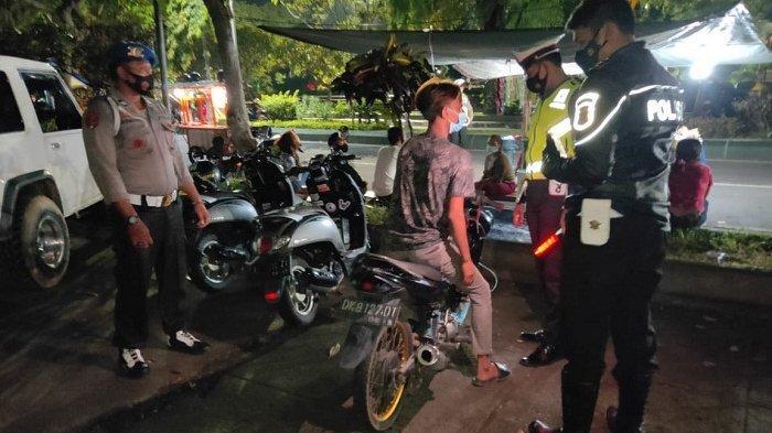 45 Pemilik Kendaraan dengan Knalpot Brong Ditilang Jajaran Satlantas Polres Tabanan