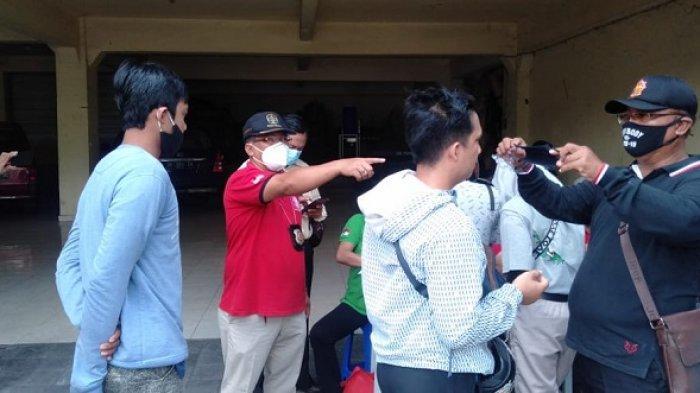 Razia Masker di Pemecutan Kelod Denpasar, Jaring 32 Orang Pelanggar