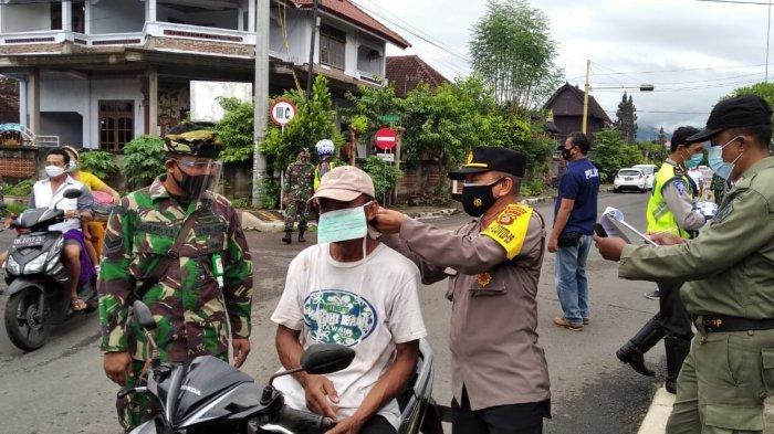 36 Pelanggar Prokes Kena Jaring Petugas Gabungan di Jembrana