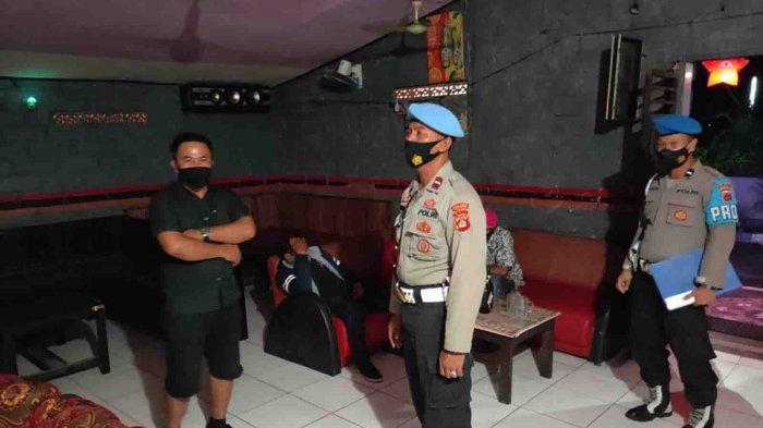 Cegah Anggota Masuk Tempat Hiburan Malam, Propam Polres Jembrana Gelar Razia Gaktiblin