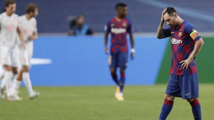 Barcelona vs Bayern Muenchen, Ini Deretan Kekalahan Memalukan Barcelona, 6 Kali Kebobolan 8 Gol