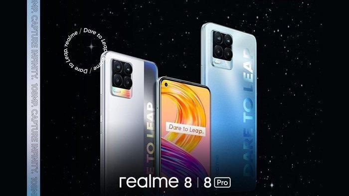 Taksiran Harga Realme 8 dan Realme 8 Pro yang Dirilis di Indonesia Hari Ini, Lengkap Spesifikasinya