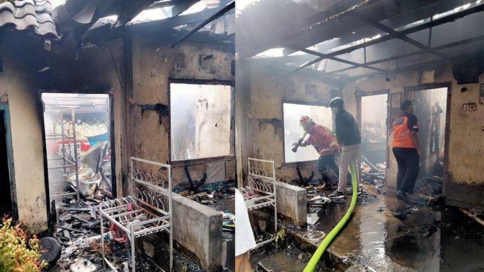 Diduga karena Api Sisa Dupa, 1 Rumah di Denpasar Dilahap Si Jago Merah