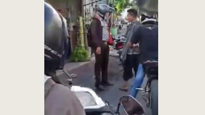 Viral, Satpam di Denpasar Dikeroyok Sekelompok Pemuda, Ternyata Alasannya Sepele