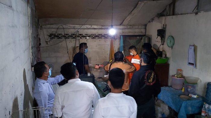 Basori Naik Pitam Istrinya Ditampar Saat Tagih Utang, Korban Dipukul Helm lalu Tabung Gas Elpiji