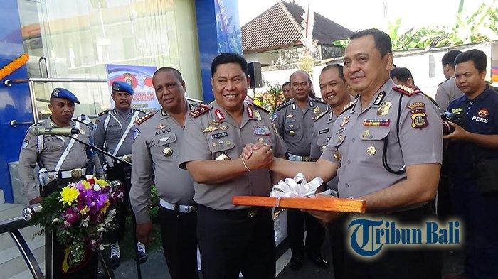 Kapolda Bali Resmikan Gedung Satpas dan Lapangan Uji Praktek SIM Polresta Denpasar